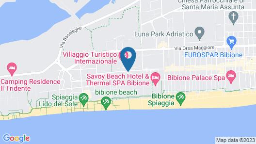 Villaggio Turistico Internazionale Map