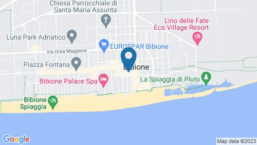 Palace Hotel Regina Map