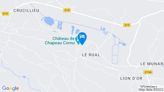 Les Dépendances de Chapeau Cornu Map