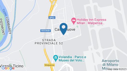 Idea Hotel Milano Malpensa Airport Map