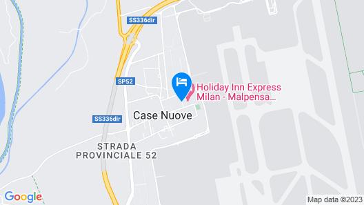 Holiday Inn Express Milan - Malpensa Airport Map