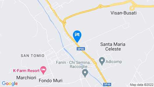 Hotel San Tomio Map