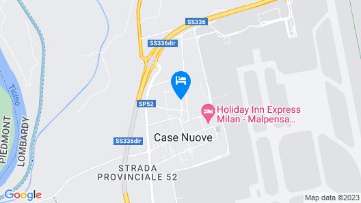 Crowne Plaza Malpensa Airport Map