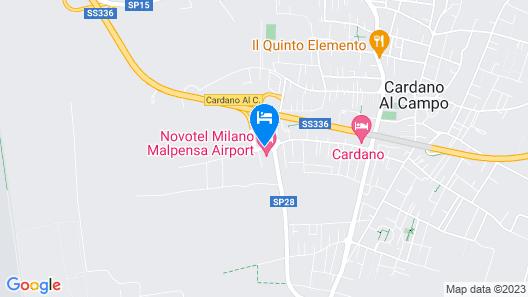 Novotel Milan Malpensa Airport Map