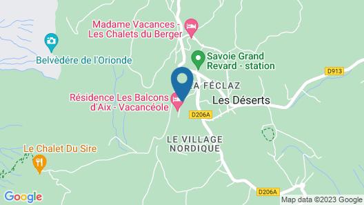Les Balcons d'Aix Map