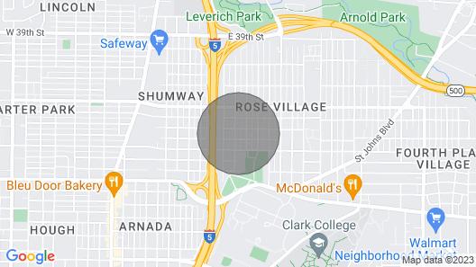 Loftium Cozy & Private Rose Village Suite Map
