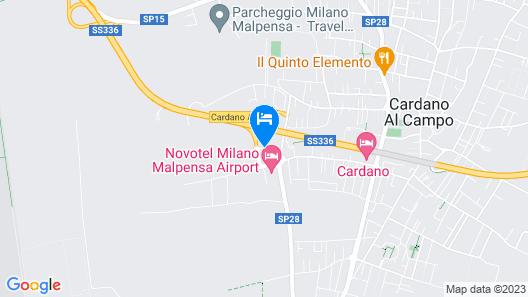 Best Western Hotel Cavalieri Della Corona Map