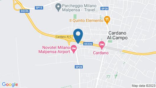 ibis Milano Malpensa Aeroporto Map