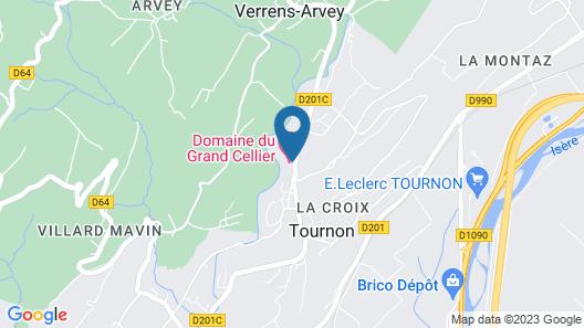 Domaine du Grand Cellier - Insolites - En Savoie Map