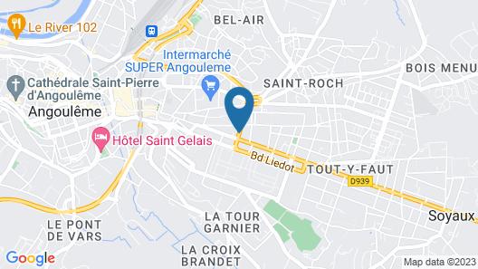 Logis de France Epi d'Or Map