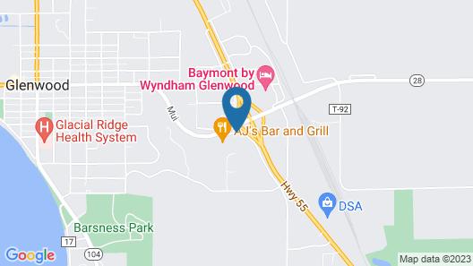 Super 8 by Wyndham Glenwood Map
