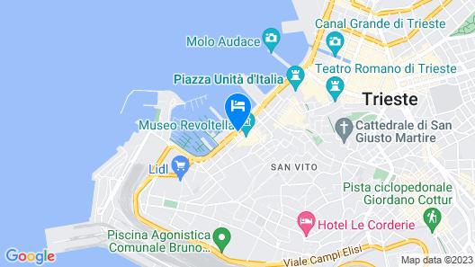 Residence Al Granzo Map