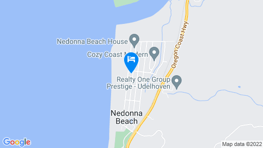 The Lodge at Nedonna Beach Map