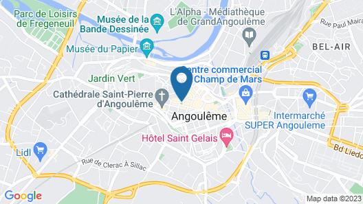 Hôtel du Palais Map