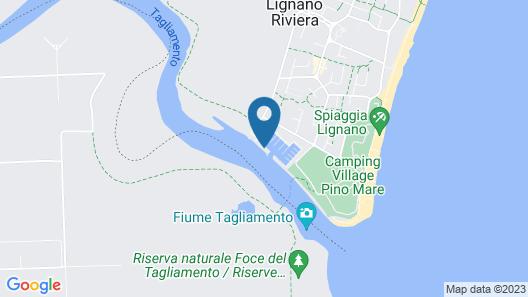 Floating Resort Map