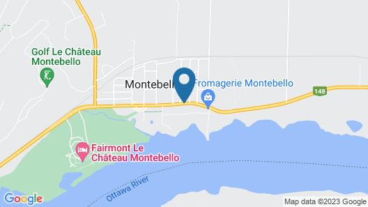 Motel Bel-Eau Map