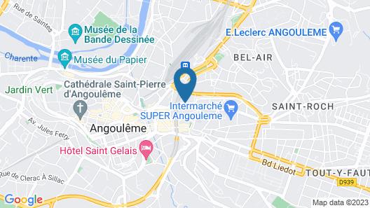 Hôtel des Pyrénées Map