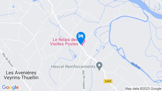 RELAIS DES VIEILLES POSTES Map