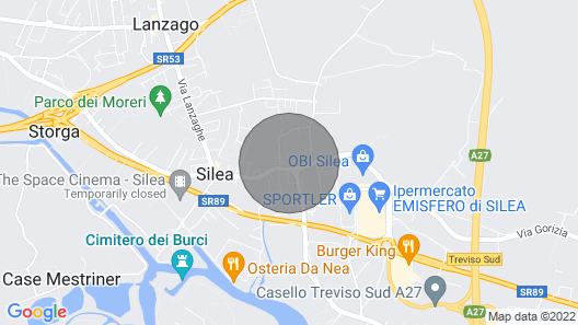 6 bedroom accommodation in Silea -TV- Map