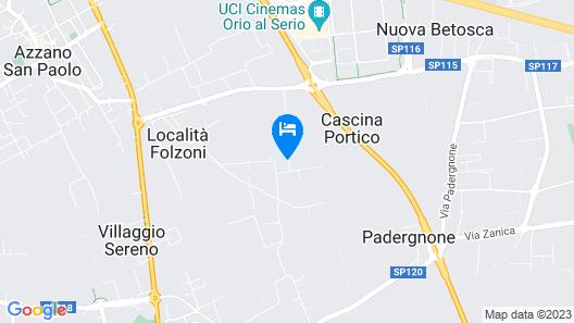Cascina Portico Map