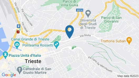 Affittacamere Girasole Map