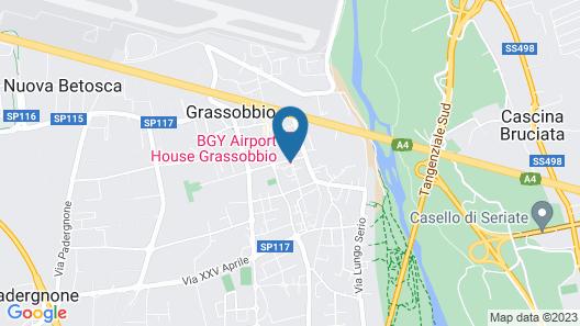 BGY AIRPORT HOUSE GRASSOBBIO Map