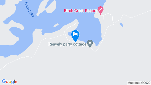 TO Stays - Waterfront Lake House Retreat Map