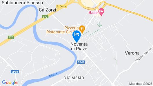 Hotel Leon D'Oro Map