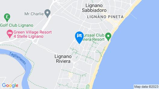 Hotel President Map