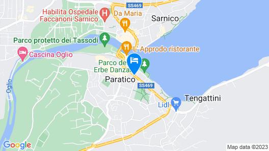 Hotel Ulivi Map