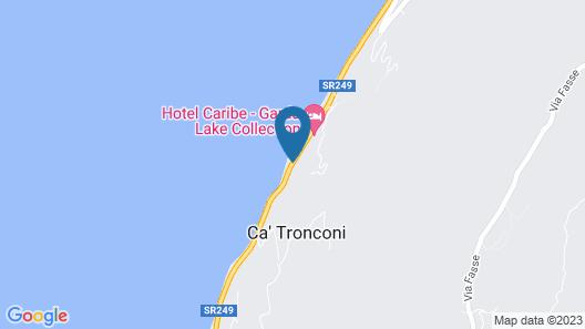 Hotel Caribe Map