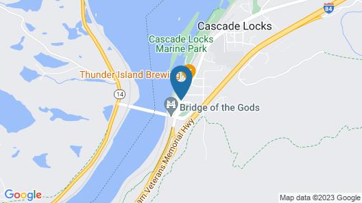 Best Western Plus Columbia River Inn Map