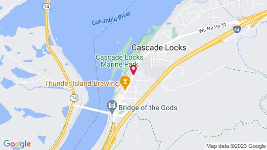 Columbia Gorge Inn Map
