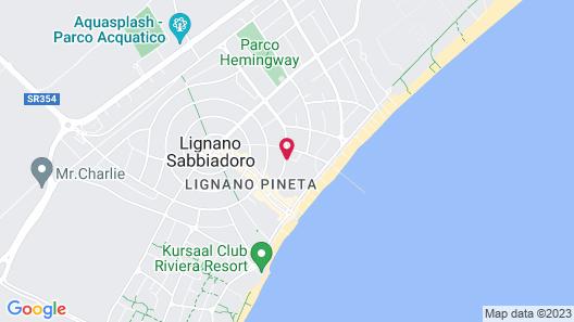 Hotel Bella Venezia Mare Map