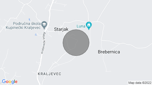 Beautiful Home in Starjak With Wifi and 4 Bedrooms Map