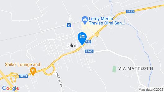 Hotel Agli Olmi Map