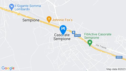 Hotel Osteria della Pista Map