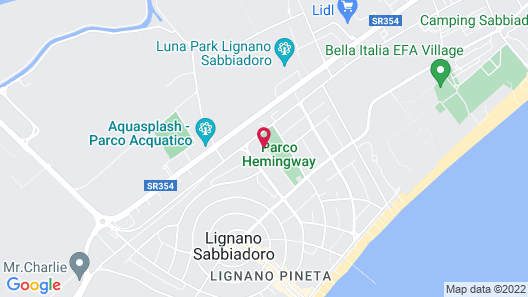 Villagio Parco Hemingway Map