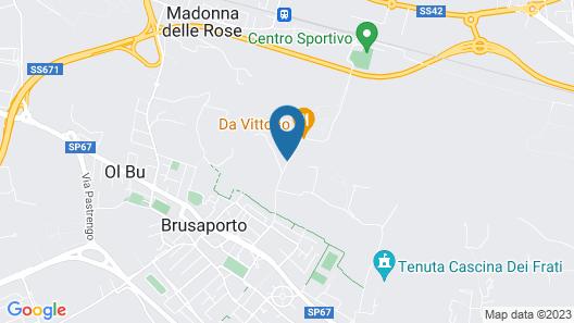 Relais Chateaux Da Vittorio Map