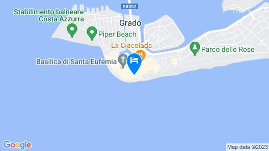 Hotel Fonzari Map