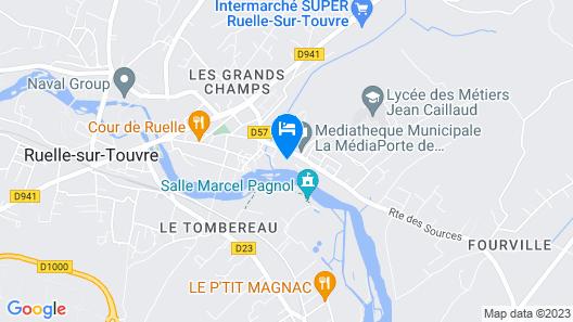 Le Logis De Ruelle Map
