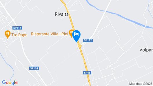 Villa i Pini Map