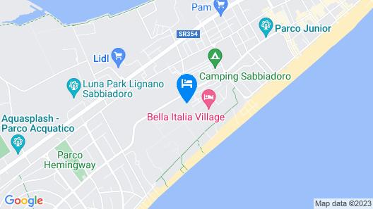 Bella Italia & EFA Village Map