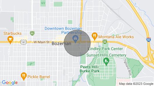 Bozeman - Loft In The Rockies Map