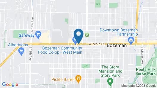 Bozeman Lewis & Clark Motel Map