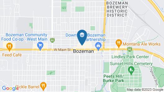 Kimpton Armory Hotel Bozeman Map