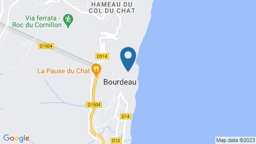 Château de Bourdeau Map