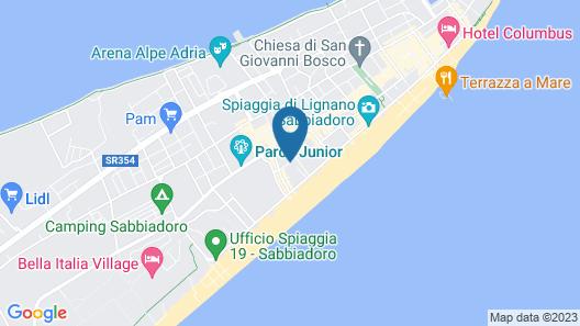 Hotel Adria Map