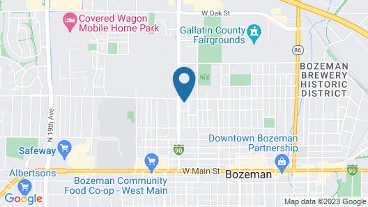 RSVP Hotel Map