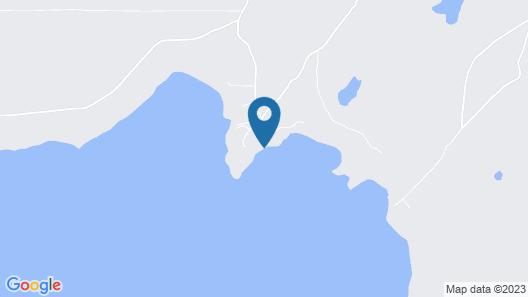 Lake Huron Log Cabin Map